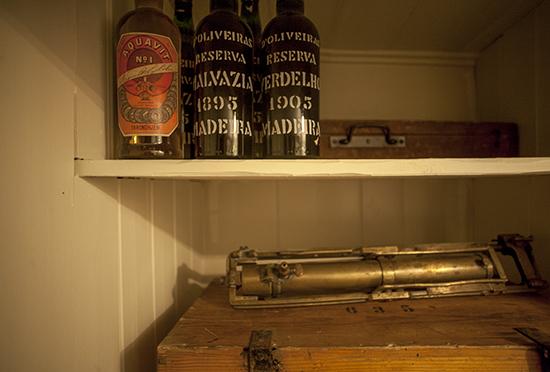 vino de Madeira a bordo del Fram