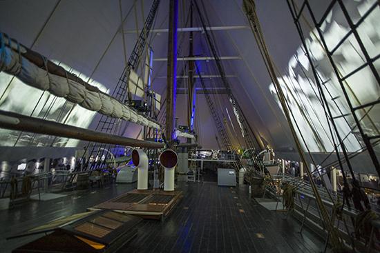 cubierta del Fram museo Oslo
