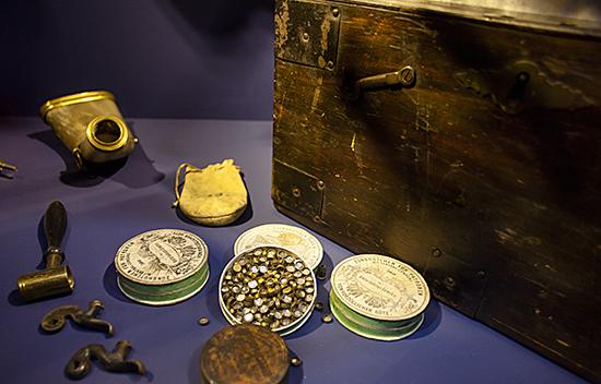detalle exposición Fram museum Oslo