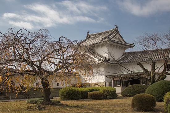 jardines de castillo Himeji