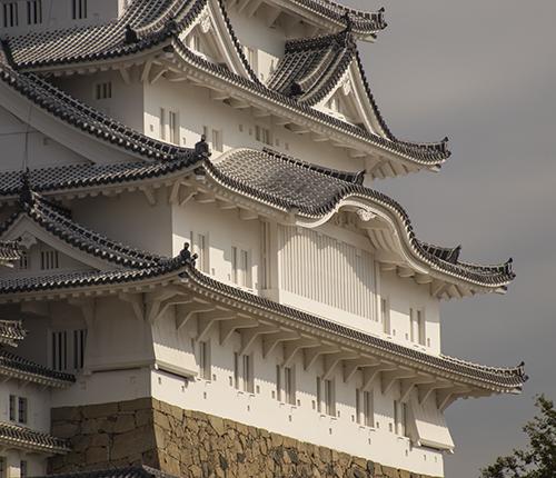 tejado castillo Himeji Kapon