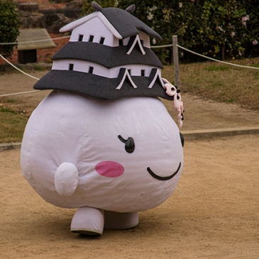 mascotas Japon Himeji castle