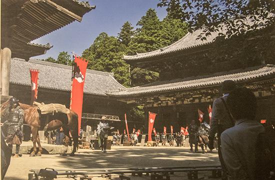 rodaje del ultimo samurai Japan