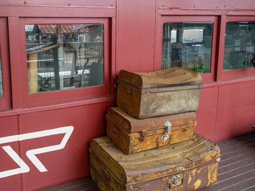 maletas antiguas (Mareeba)