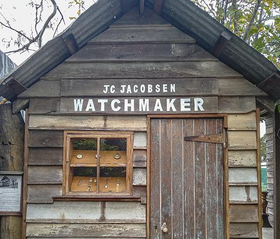 relojería antigua australia