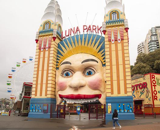 parque atracciones sydney Luna park