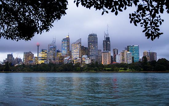 city sydney skyline