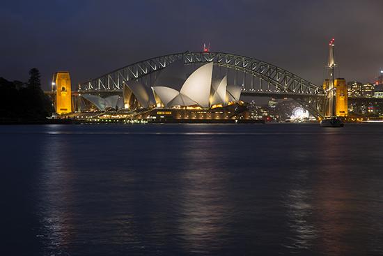 sydney de noche vistas panoramicas