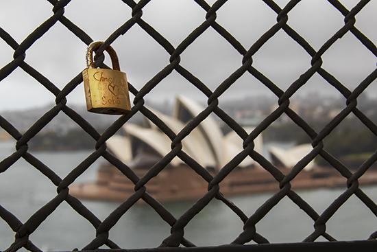 opera house desde puente Sydney