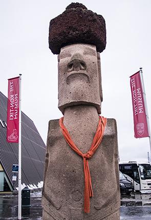 moái museo Kontiki Noruega Oslo
