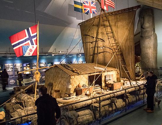 balsa Kontiki museo Oslo Noruega
