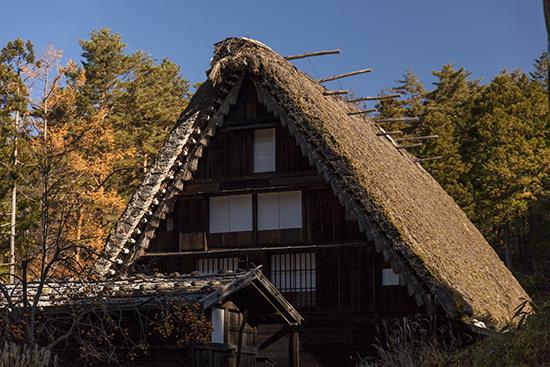 arquitectura Japón rural