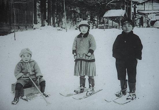 fotografía histórica Japón Aldea Hida no sato