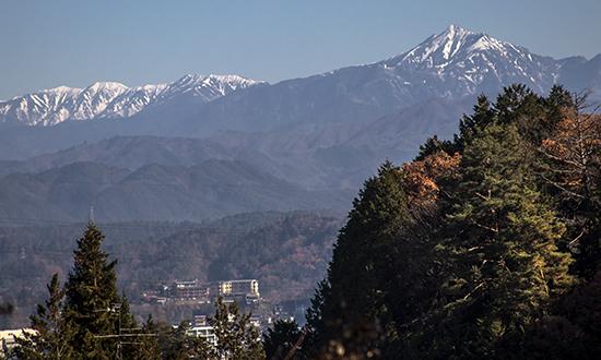 Alpes japoneses desde Takayama