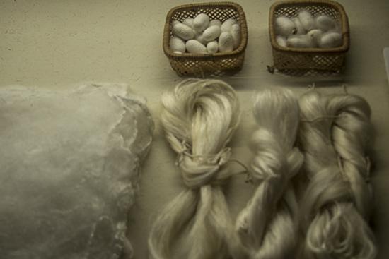 arte de la seda en japón