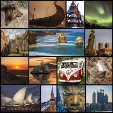 foto collage resumen viajes 2019 te cuento de viajes