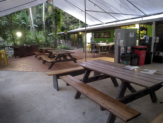instalaciones camping Safari Lodge Cape Tribulation