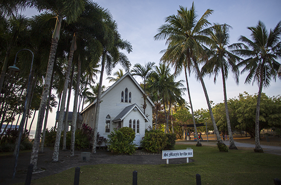 Port Douglas iglesia St Mary by the sea