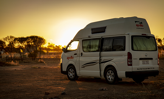 acampada libre Australia