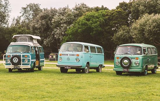 campervan Volkswagen en Lorne Australia