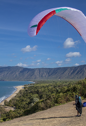 parapente en Queensland