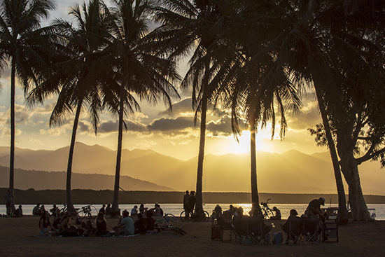 atardecer en Port Douglas Queensland