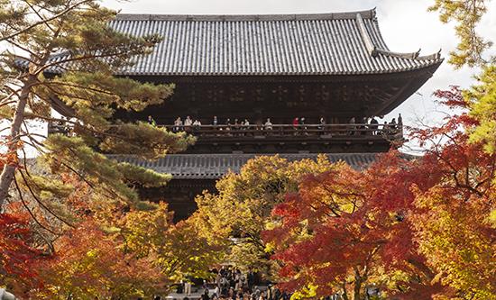 nanzenji temple balcon kioto