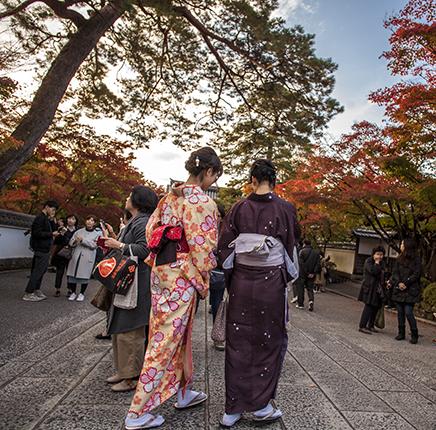 eikando temple kioto acceso