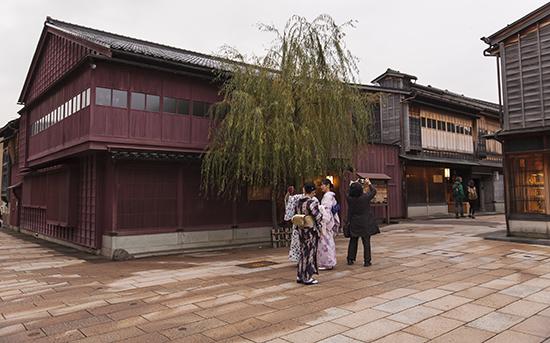 Kanazawa barrio de geishas