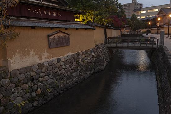 barrio samurai Kanazawa
