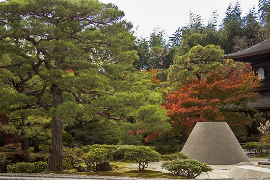 jardin zen templo de plata Kioto japon