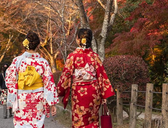 alquilar kimonos en japon