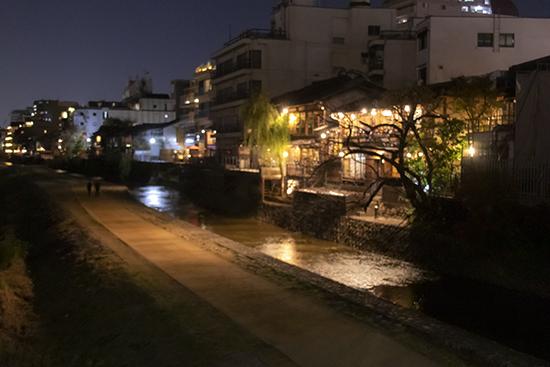 gion de noche kioto