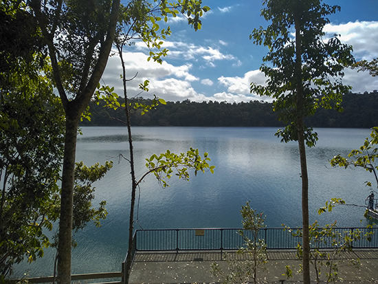 Lake eacham Australia