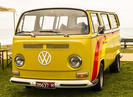 volkswagen camper van T2 Lorne