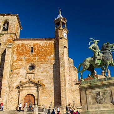 que ver en plaza Mayor Trujillo Cáceres
