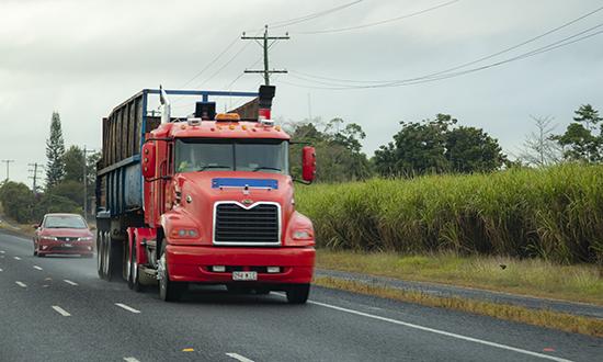 camion en Queenland