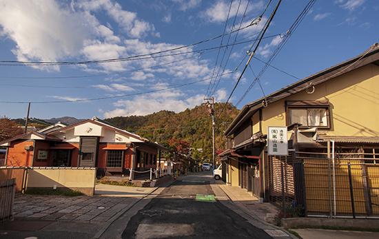 alrededores hirashiyama kioto