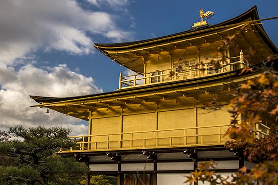 detalle templo dorado kioto