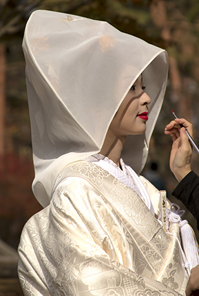 maquillaje boda sintoista detalle labios