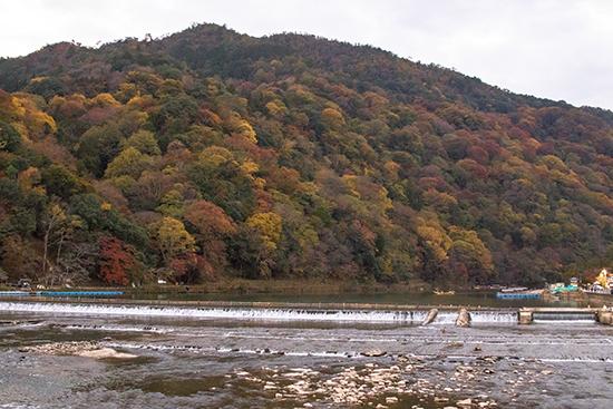 segunda quincena de noviembre en arashiyama