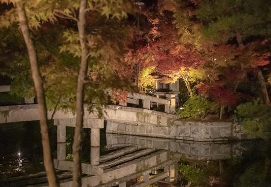 eikando temple de noche kioto