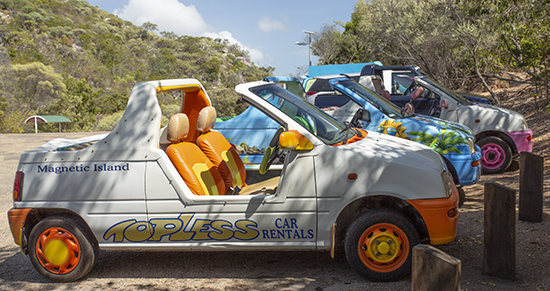 alquilar coche en Magnetic Island