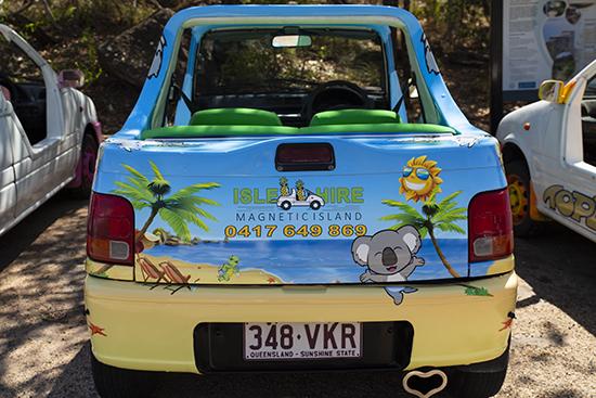 alquilar coche descapotable Magnetic Island