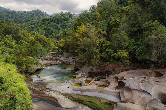 Babinda falls Australia