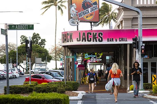 calle de Cairns Australia