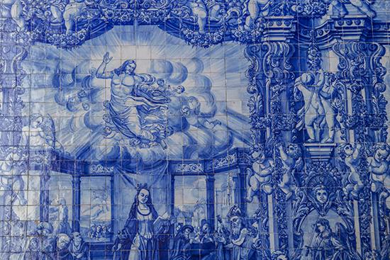 detalle azulejos Oporto