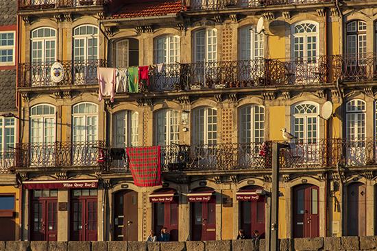 fachadas ribera de Oporto