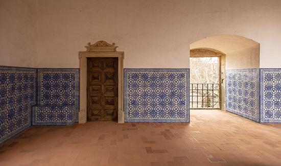Claustro azul convento de cristo