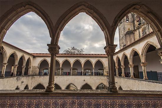 Claustro. Convento de Cristo